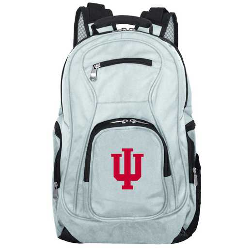 CLIUL704-GRAY: NCAA Indiana Hoosiers Backpack Laptop