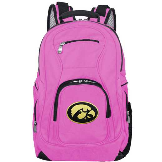 CLIWL704-PINK: NCAA Iowa Hawkeyes Backpack Laptop