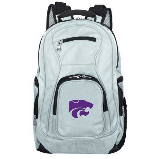 CLKSL704-GRAY: NCAA Kansas State Wildcats Backpack Laptop