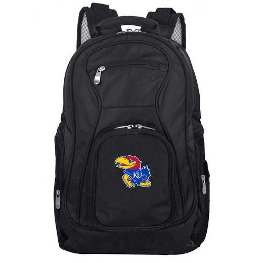 CLKUL704: NCAA Kansas Jayhawks Backpack Laptop