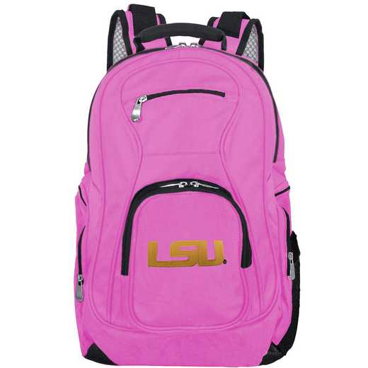 CLLSL704-PINK: NCAA Louisiana Tigers Backpack Laptop