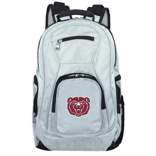CLMBL704-GRAY: NCAA Missouri State University Bears Backpack Laptop