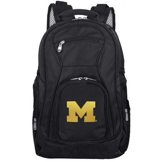 CLMCL704: NCAA Michigan Wolverines Backpack Laptop