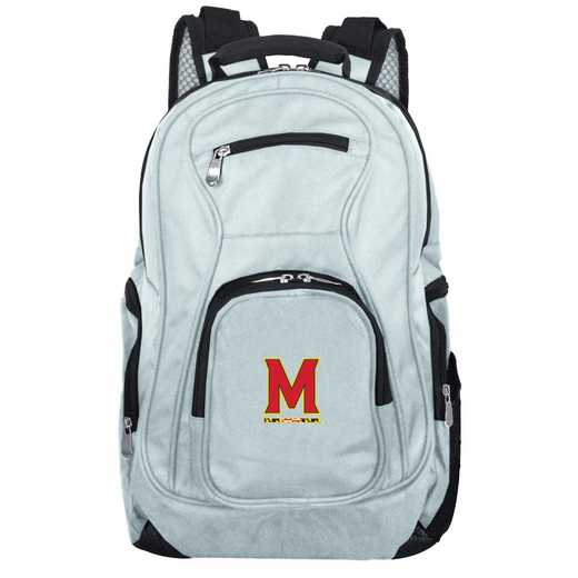CLMDL704-GRAY: NCAA Maryland Terrapins Backpack Laptop