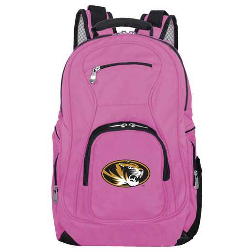 CLMOL704-PINK: NCAA Missouri Tigers Backpack Laptop