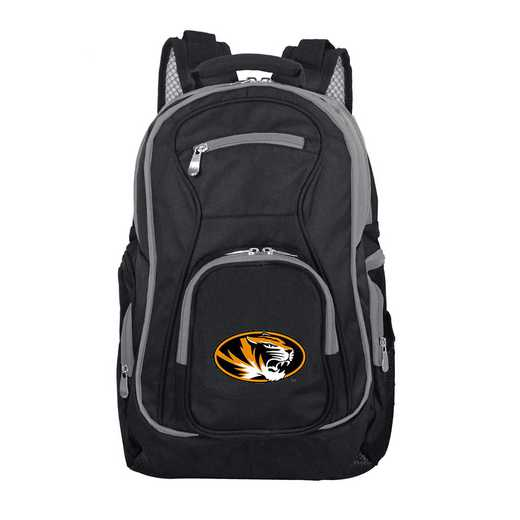 CLMOL708: NCAA Missouri Tigers Trim color Laptop Backpack