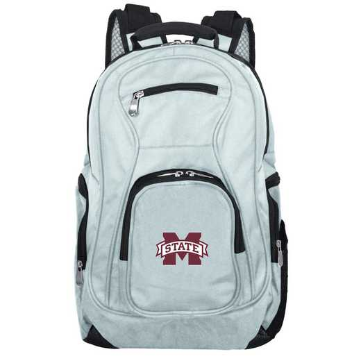 CLMPL704-GRAY: NCAA Mississippi State Bulldogs Backpack Laptop