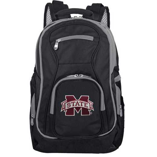 CLMPL708: NCAA Mississippi State Bulldogs Trim color Laptop Backpack