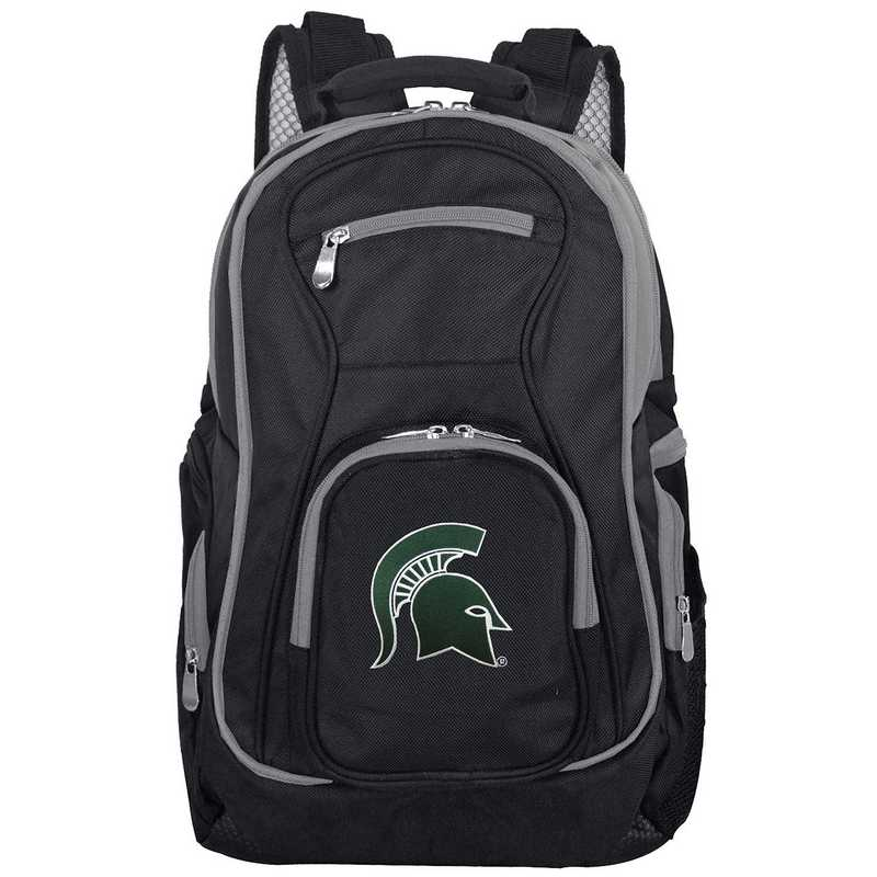 CLMSL708: NCAA Michigan State Spartans Trim color Laptop Backpack