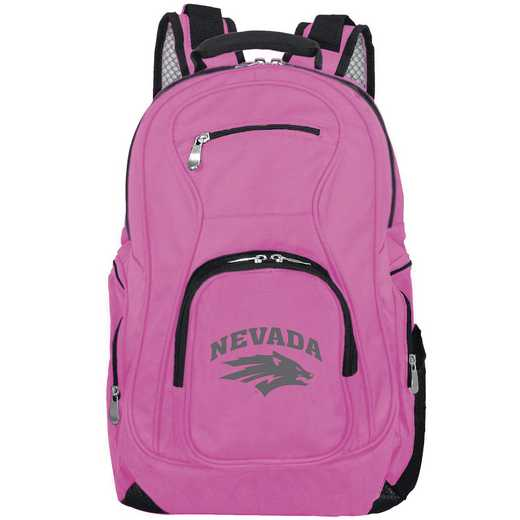 CLNAL704-PINK: NCAA Nevada Wolf Pack Backpack Laptop