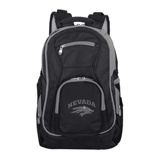 CLNAL708: NCAA Nevada Wolf Pack Trim color Laptop Backpack