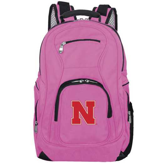CLNBL704-PINK: NCAA Nebraska Cornhuskers Backpack Laptop