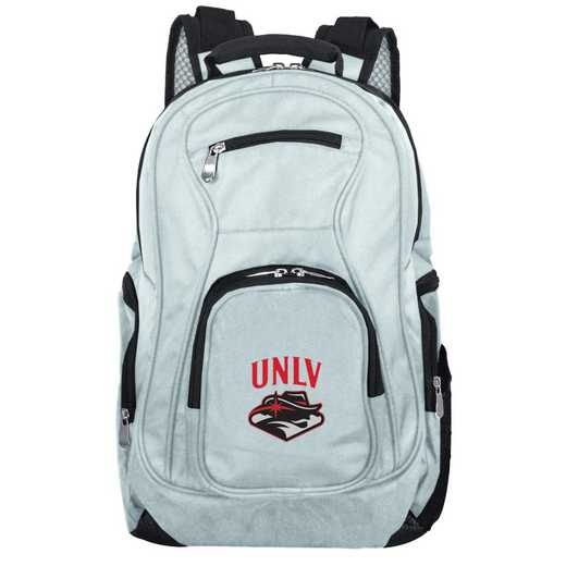 CLNLL704-GRAY: NCAA UNLV Rebels Backpack Laptop