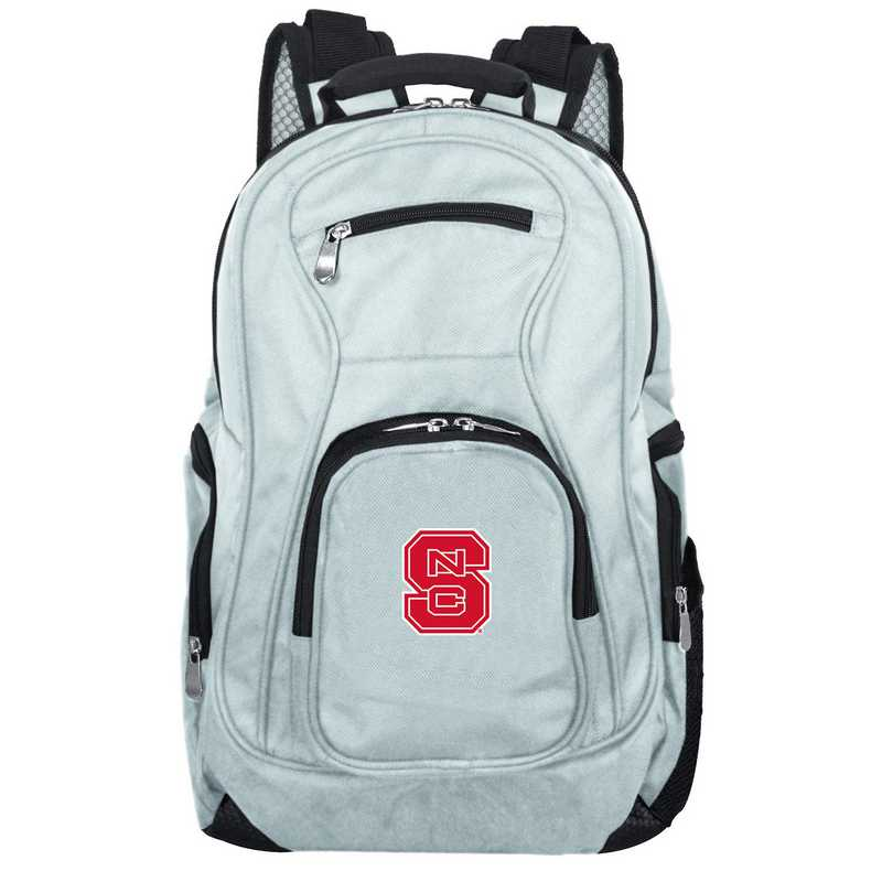 CLNSL704-GRAY: NCAA NC State Wolfpack Backpack Laptop