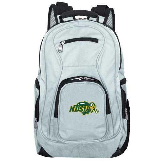 CLNUL704-GRAY: NCAA North Dakota State Bison Backpack Laptop