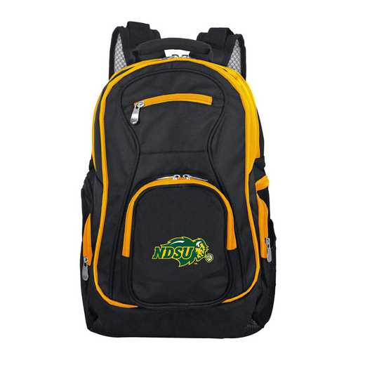 CLNUL708: NCAA North Dakota State Bison Trim color Laptop Backpack