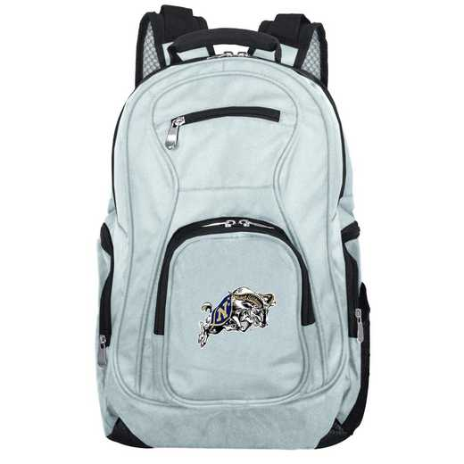 CLNVL704-GRAY: NCAA Navy Midshipmen Backpack Laptop