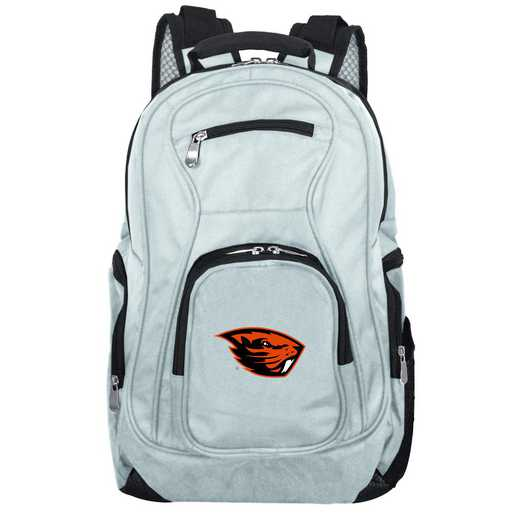 CLOGL704-GRAY: NCAA Oregon State Beavers Backpack Laptop