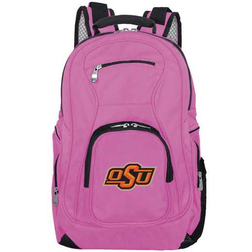 CLOKL704-PINK: NCAA Oklahoma State Cowboys Backpack Laptop
