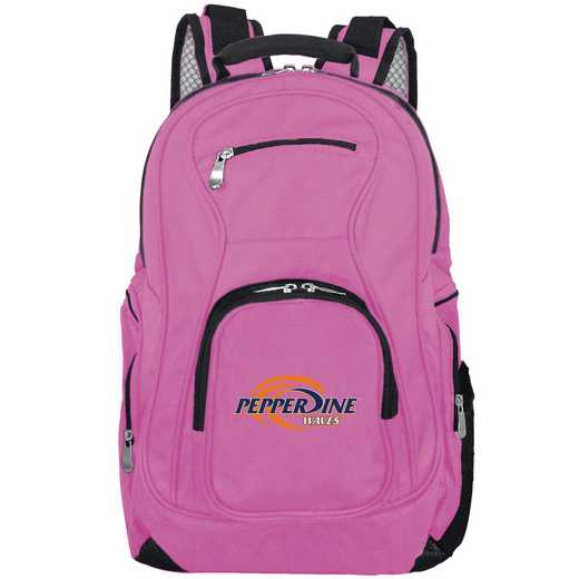 CLPPL704-PINK: NCAA Pepperdine University Waves Backpack Laptop