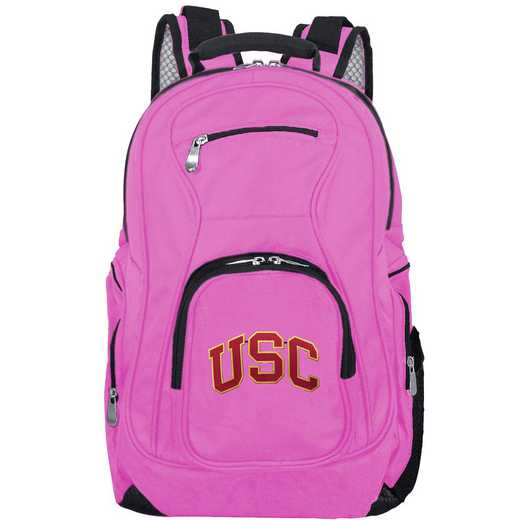CLSCL704-PINK: NCAA Southern Cal Trojans Backpack Laptop