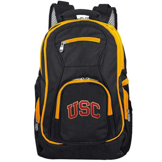 CLSCL708: NCAA Southern Cal Trojans Trim color Laptop Backpack