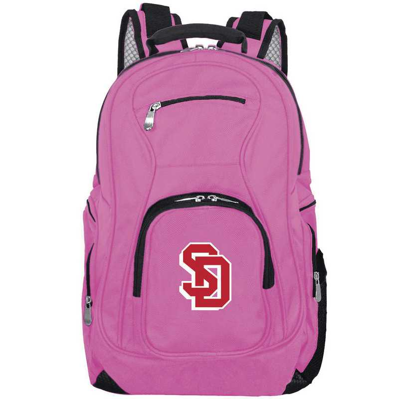 CLSDL704-PINK: NCAA South Dakota Coyotes Backpack Laptop