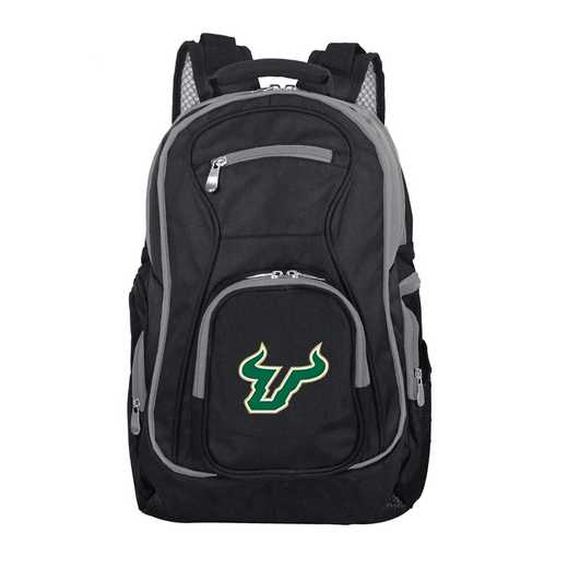 CLSFL708: NCAA South Florida Bulls Trim color Laptop Backpack