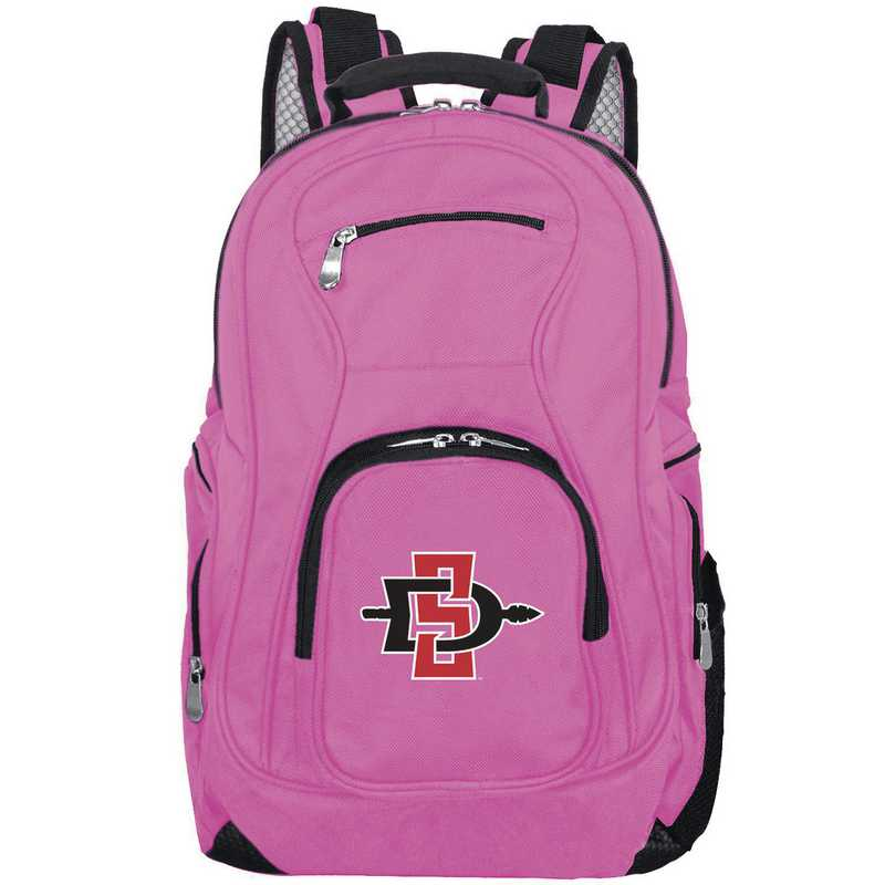 CLSGL704-PINK: NCAA San Diego State Aztecs Backpack Laptop