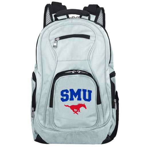 CLSML704-GRAY: NCAA Southern Methodist Mustangs Backpack Laptop