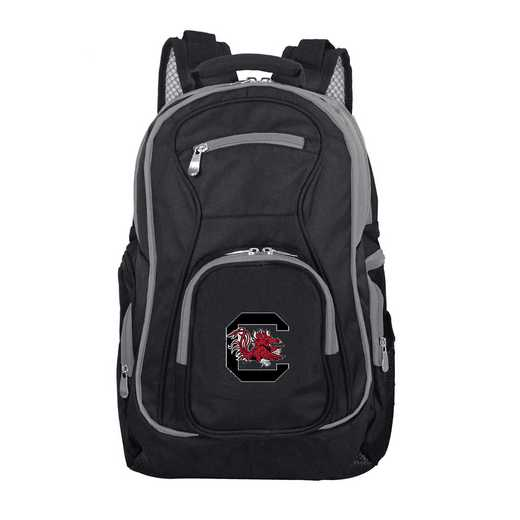 CLSOL708: NCAA South Carolina Gamecocks Trim color Laptop Backpack