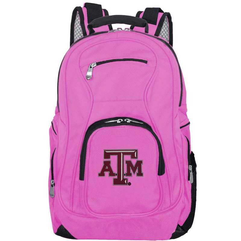 CLTAL704-PINK: NCAA Texas A&M Aggies Backpack Laptop