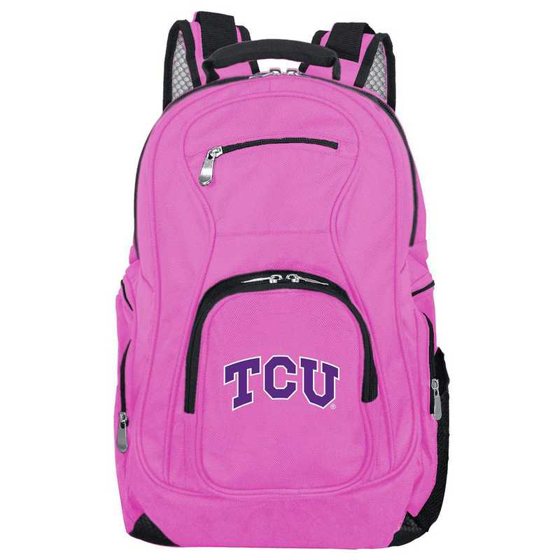 CLTCL704-PINK: NCAA Texas Christian University Horned Frogs Backpack Laptop