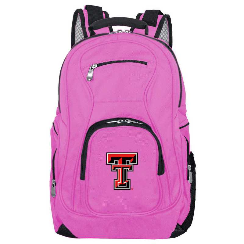 CLTTL704-PINK: NCAA Texas Tech Red Raiders Backpack Laptop