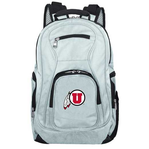 CLUTL704-GRAY: NCAA Utah Utes Backpack Laptop