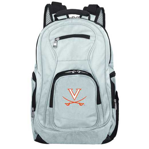 CLVIL704-GRAY: NCAA Virginia Cavaliers Backpack Laptop