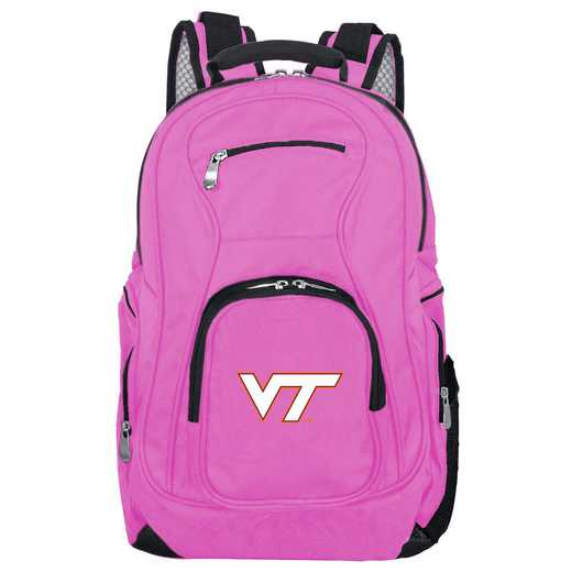 CLVTL704-PINK: NCAA Virginia Tech Hokies Backpack Laptop