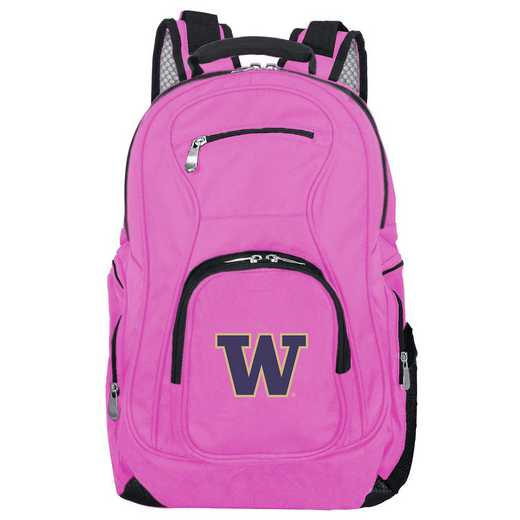 CLWAL704-PINK: NCAA Washington Huskies Backpack Laptop