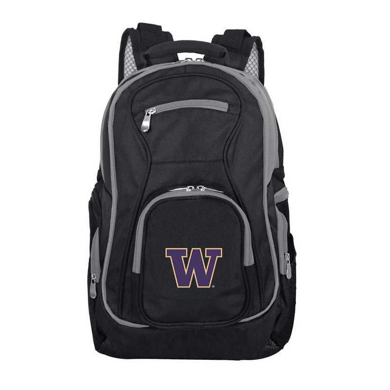 CLWAL708: NCAA Washington Huskies Trim color Laptop Backpack