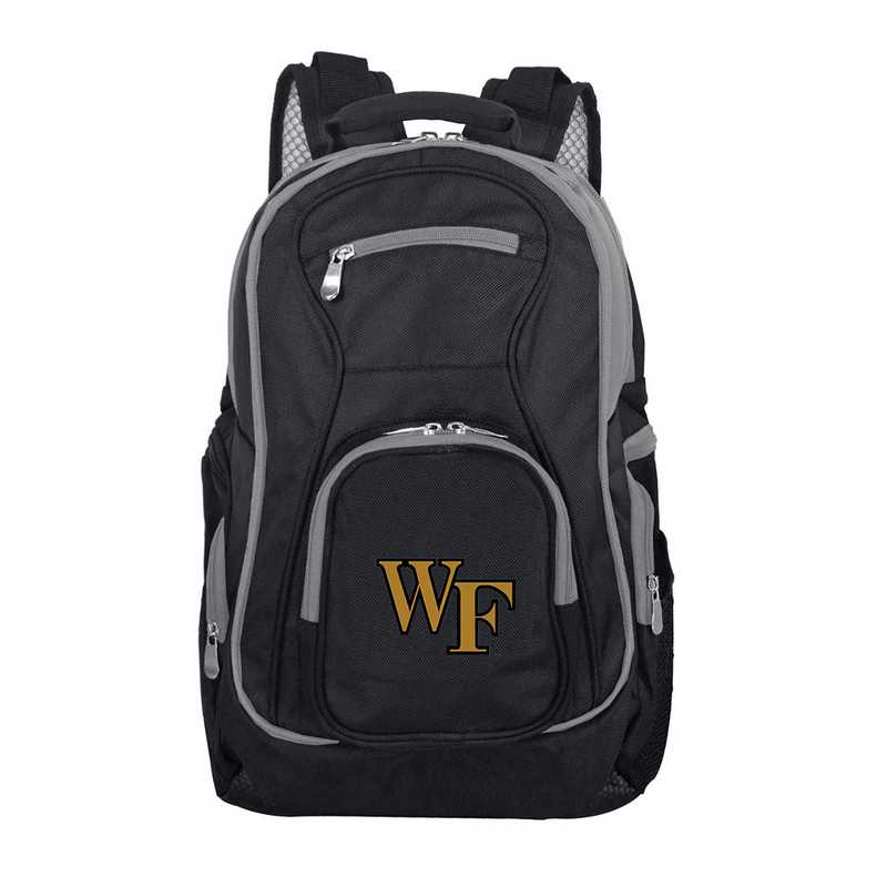 CLWFL708: NCAA Wake Forest Demon Deacons Trim color Laptop Backpack