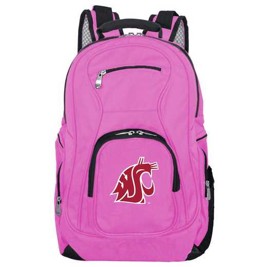 CLWSL704-PINK: NCAA Washington State Cougars Backpack Laptop