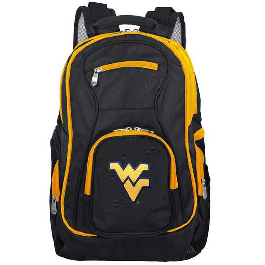 CLWVL708: NCAA West Virginia Mountaineers Trim color Laptop Backpack