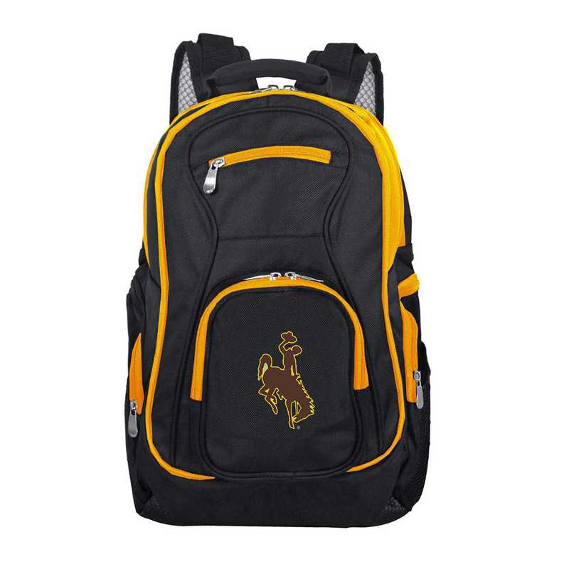 CLWYL708: NCAA Wyoming Cowboys Trim color Laptop Backpack