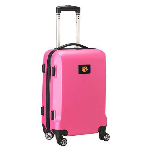 CLCLL204-PINK: NCAA Clemson Tigers   21-Inch Hardcase Spinner PNK