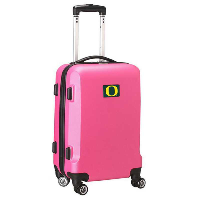 CLODL204-PINK: NCAA Oregon Ducks   21IN Hardcase Spinner -PNK
