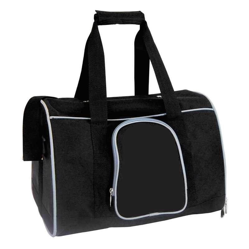 PLZZL901-GRAY: Gray Pet Carrier Duffel