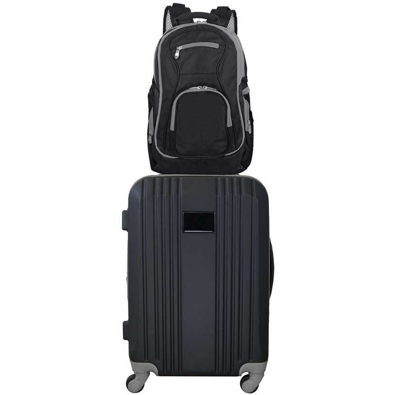 GEZZL108-GRAY : Set Luggage and Backpack in Gray