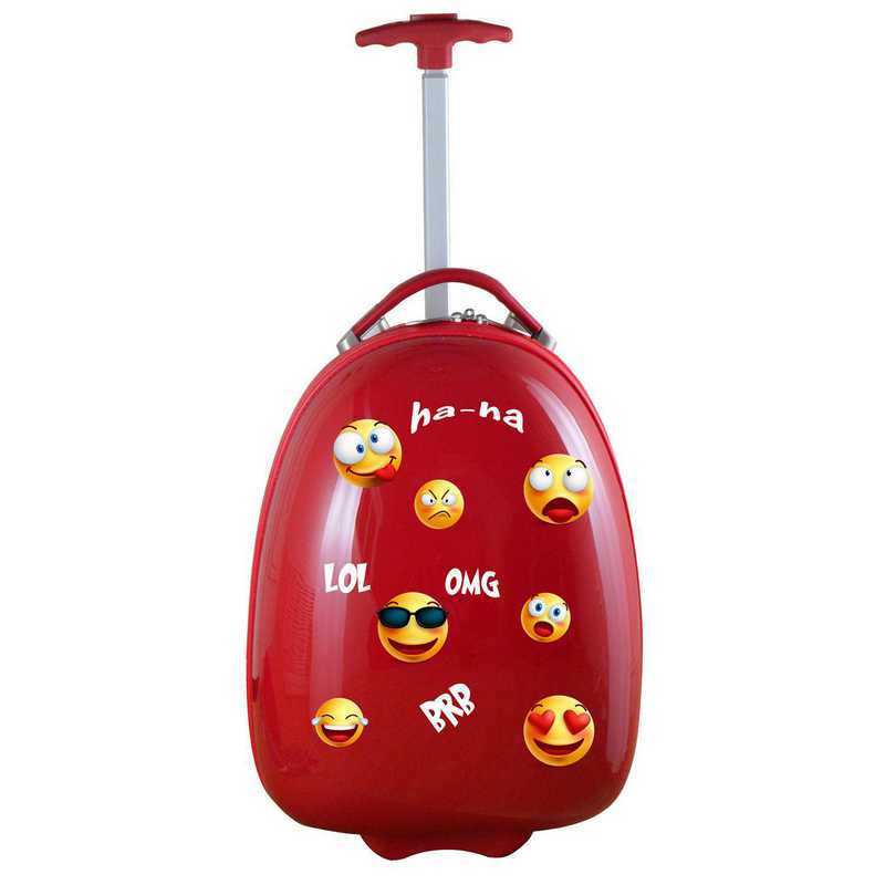 PLZZL601-RED:  Kids Pod Luggage In Red