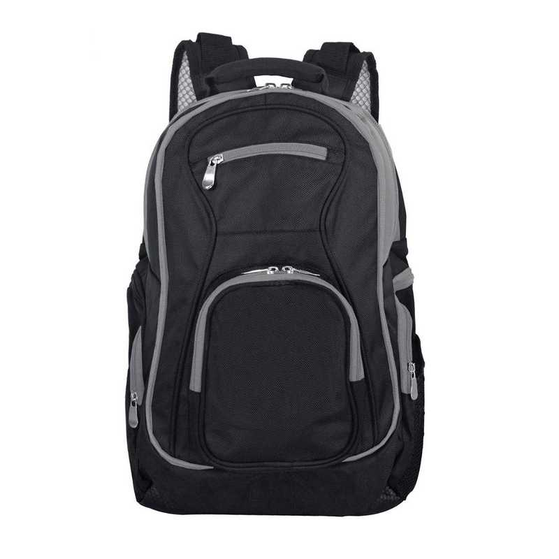 PLZZL708-GRAY: Gray Trim Blank Backpack