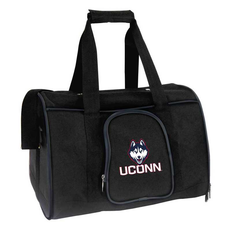 CLCNL901: NCAA Connecticut Huskies Pet Carrier Premium 16in bag